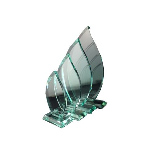 CC17 Jade Glass Flame Plaque - O'Kellys Jewellers Bray