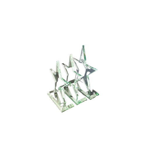 CC33 Jade Glass Star Plaque - O'Kellys Jewellers Bray