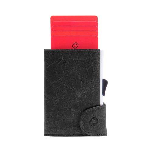 C Secure Wallet Black Vintage - O'Kellys Jewellers Bray