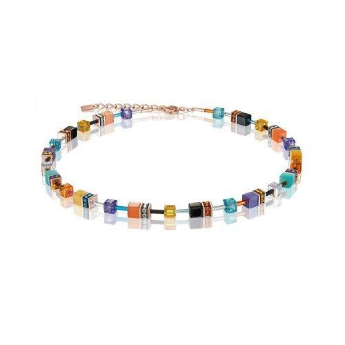 Coeur de Lion Geocube Multicolour Couture Necklet - O'Kellys Jewellers Bray