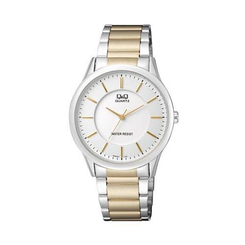 Q & Q Gents Two Tone Bracelet Watch - O'Kellys Jewellers Bray