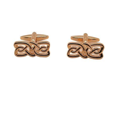 Gold Plated Celtic Cufflinks - O'Kellys Jewellers Bray