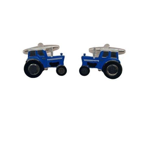 Blue Tractor Cufflinks - O'Kellys Jewellers Bray