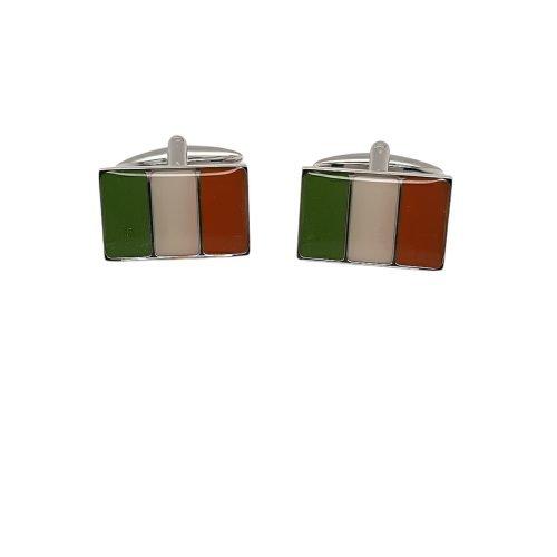 Irish Flag Cufflinks - O'Kellys Jewellers Bray