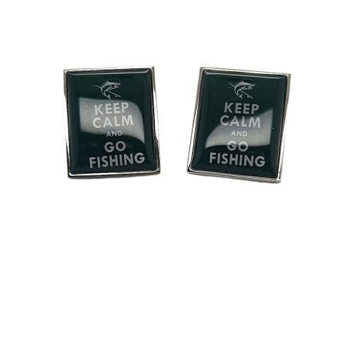 Go Fishing Cufflinks - O'Kellys Jewellers Bray