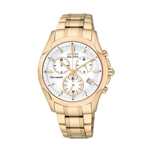 Citizen L Chronograph Gold Tone BW - O'Kellys Jewellers Bray