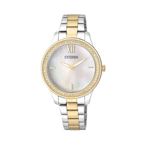 Citizen L MOP Dial Stainless Steel BW - O'Kellys Jewellers Bray