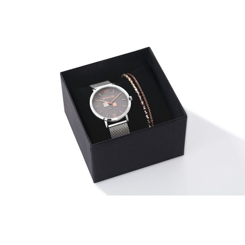 Coeur De Lion Chrome Watch And Bracelet Set - O'Kellys Jewellers Bray