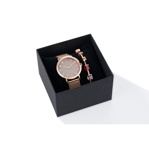 Coeur De Lion Rose Watch And Bracelet Set - O'Kellys Jewellers Bray